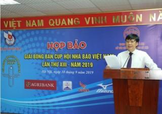 Gần 200 vận động viên tham gia Giải Bóng bàn Cúp Hội Nhà báo Việt Nam 2019
