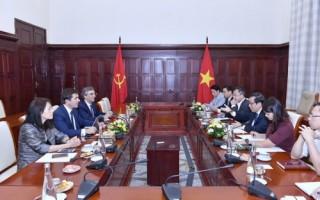 BBVA muốn hợp tác với Việt Nam về phát triển mô hình ngân hàng số