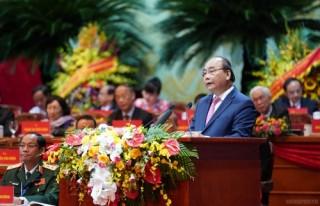 Thủ tướng phát biểu tại Đại hội đại biểu toàn quốc MTTQ Việt Nam