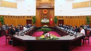 Phó Thủ tướng Vương Đình Huệ hội đàm với Phó Chủ tịch cao cấp WB