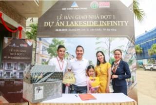 Đất Xanh Miền Trung bàn giao nhà đợt 1 dự án Lakeside Infinity