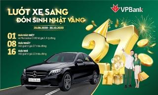 Trúng ngay ô tô Mercedes khi tham gia đại tiệc sinh nhật 27 tuổi của VPBank