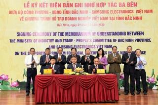 Hỗ trợ doanh nghiệp Việt Nam trên địa bàn tỉnh Bắc Ninh