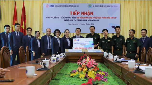 MB đồng hành cùng Bộ đội biên phòng tỉnh Sơn La