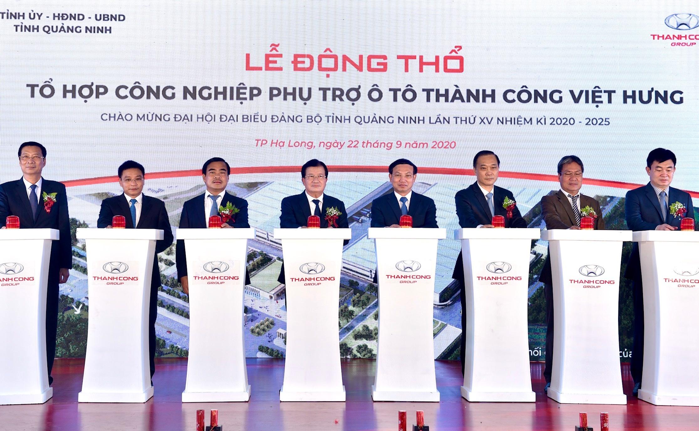 khoi dong to hop cong nghiep phu tro o to tai quang ninh