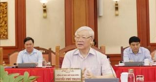 Bộ Chính trị hoàn thành chương trình làm việc với 67 đảng bộ trực thuộc Trung ương