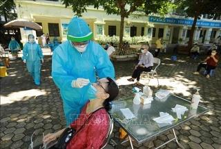 Sáng 2/9, Hà Nội ghi nhận thêm 5 ca COVID-19, trong đó 3 ca tại cộng đồng