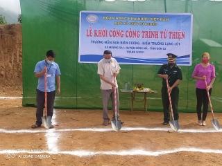 Khối thi đua các tổ chức sự nghiệp NHNN xây dựng điểm Trường mầm non Lọng Lót