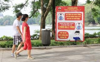 Từ 28/9: Hà Nội cho phép hoạt động trở lại thể dục thể thao ngoài trời