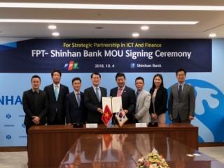 FPT và Ngân hàng Shinhan hợp tác trong lĩnh vực ngân hàng số