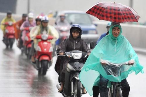 Không khí lạnh đã ảnh hưởng hầu hết các tỉnh phía Đông Bắc Bộ