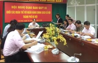 NHCSXH TP Hà Nội tăng cường phối hợp với Hội đoàn thể