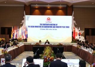 Hợp tác ASEAN+3 trong lĩnh vực thực phẩm và nông lâm nghiệp