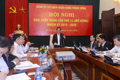 Đảng ủy cơ quan NHTW quyết liệt thực hiện một số nhiệm vụ trọng tâm cuối năm