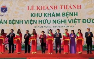 Khánh thành Bệnh viện Bạch Mai, Việt - Đức cơ sở 2