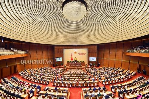 Ngày làm việc thứ 3, Quốc hội tiếp tục thảo luận ở tổ về tình hình KT-XH