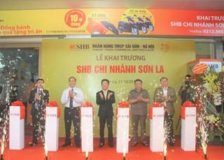 SHB khai trương chi nhánh Sơn La