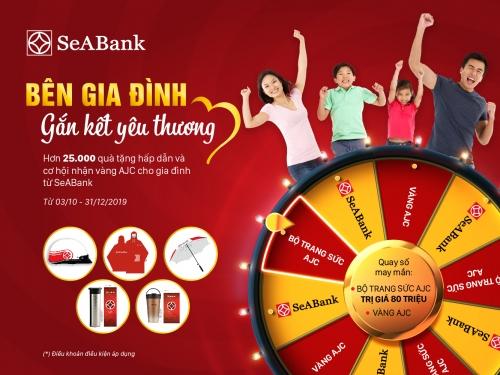 Cơ hội nhận bộ trang sức vàng AJC khi gửi tiết kiệm tại SeABank