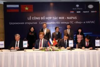 NAPAS và NSPK triển khai chấp nhận thanh toán thẻ nội địa thương hiệu quốc gia Việt - Nga