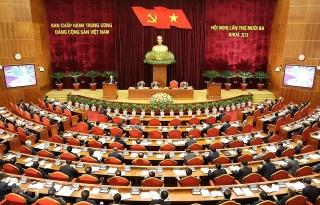 Khai mạc trọng thể Hội nghị lần thứ 13 Ban Chấp hành TW Đảng khóa XII