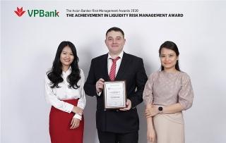 VPBank nhận giải thưởng danh giá về quản trị rủi ro từ The Asian Banker