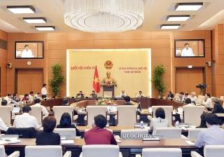 Ủy ban Thường vụ Quốc hội cho ý kiến về tổ chức chính quyền đô thị tại TP.Hồ Chí Minh