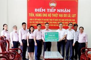 NHCSXH hỗ trợ Đà Nẵng khắc phục thiệt hại do mưa lũ