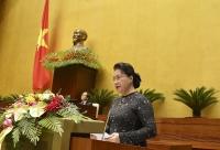 Quốc hội chia sẻ với những mất mát, đau thương của đồng bào miền Trung