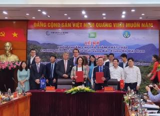 Lễ ký Thỏa thuận chi trả Chương trình giảm phát thải vùng Bắc Trung Bộ