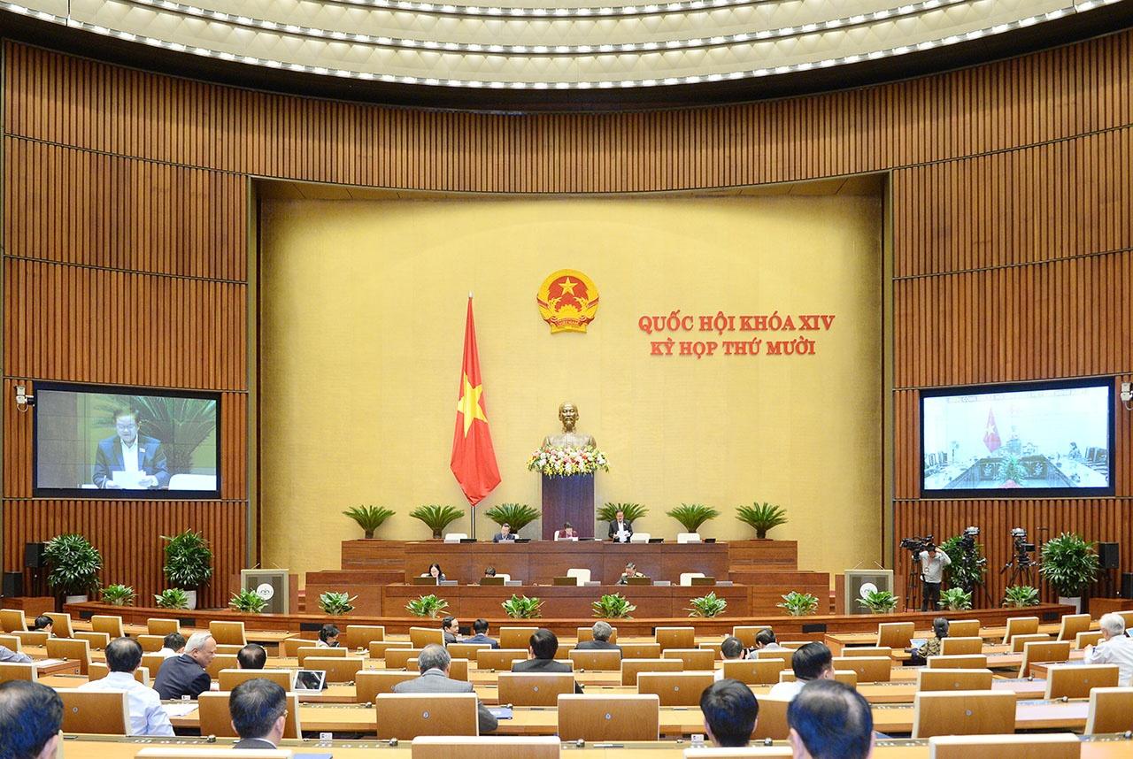 Quốc hội thảo luận về công tác phòng, chống tham nhũng năm 2020
