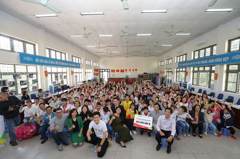 quy herbalife nutrition foundation tiep tuc ho tro dinh duong cho hon 800 em nho co hoan canh kho khan tren toan quoc