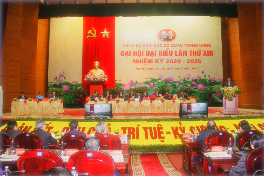 Đại hội Đại biểu Đảng bộ Khối các cơ quan Trung ương: Đoàn kết - Dân chủ - Trí tuệ - Kỷ cương - Nêu gương