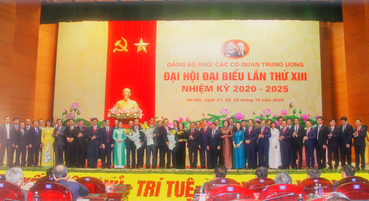 Đại hội đại biểu Đảng bộ Khối các cơ quan Trung ương lần thứ XIII thành công tốt đẹp