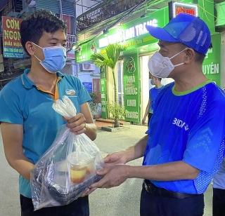 BIDV trao 18.000 suất cơm tặng đồng bào khó khăn tại thành phố Hà Nội