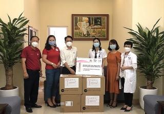 Nu Skin Việt Nam đóng góp hơn 1 tỷ đồng, tiếp sức tuyến đầu chống dịch