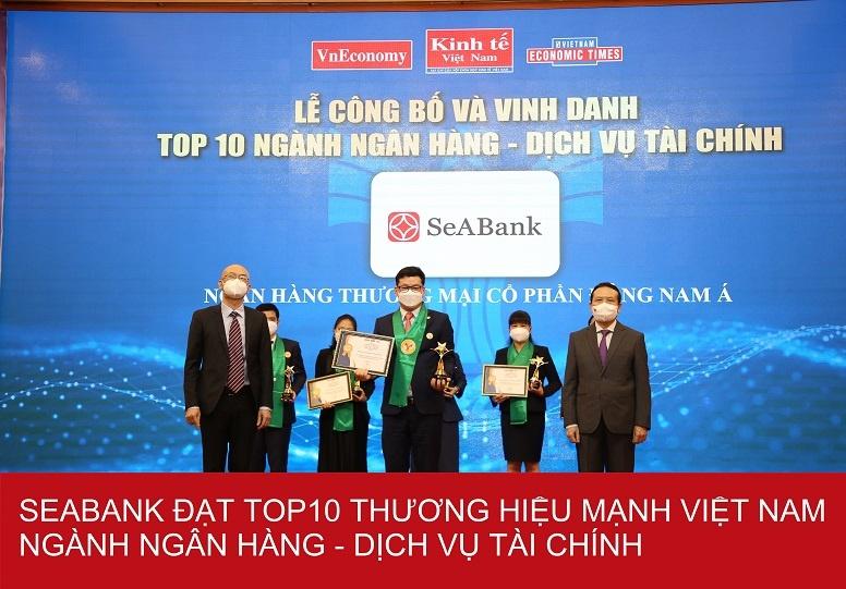 seabank top 25 thuong hieu tai chinh dan dau viet nam 2021