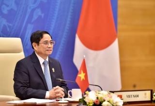 Thủ tướng đề nghị ASEAN - Nhật Bản phối hợp kiểm soát tốt đại dịch, phục hồi các chuỗi cung ứng