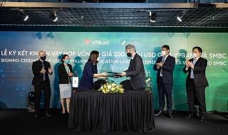 VPBank và SMBC tiếp tục ký kết khoản vay hợp vốn trị giá 200 triệu USD