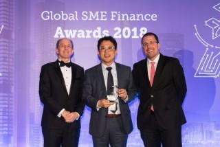 VPBank là một trong ba ngân hàng có dịch vụ SME tốt nhất châu Á