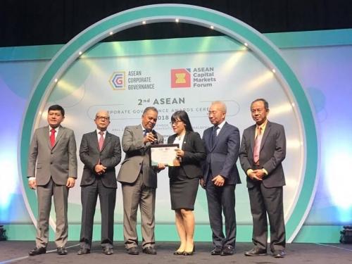 Tập đoàn Bảo Việt được vinh danh giải Quản trị công ty ASEAN