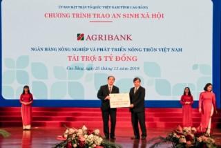 Agribank cam kết đầu tư hơn 700 tỷ đồng vào Cao Bằng