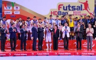 Giải Futsal Cup HDBank 2018: Thái Sơn Nam bảo vệ thành công ngôi vô địch
