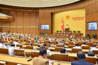 Quốc hội thảo luận về công tác phòng, chống tội phạm và vi phạm pháp luật