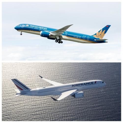 Sau 2 năm, liên doanh Vietnam Airlines - Air France đạt hơn nửa triệu lượt hành khách