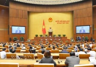Hôm nay Quốc hội biểu quyết thông qua việc phân bổ ngân sách trung ương năm 2020