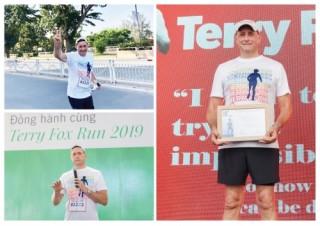 Manulife Việt Nam đồng hành cùng Terry Fox Run lan tỏa lối sống tích cực đến cộng đồng