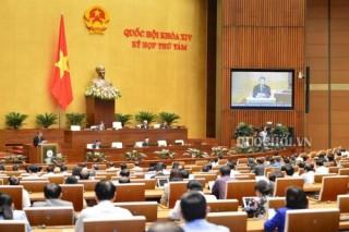 Quốc hội họp về công tác nhân sự