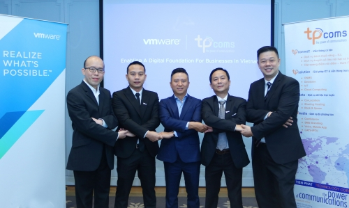 VMware và Tpcoms hợp tác thúc đẩy chuyển đổi lên đám mây của doanh nghiệp Việt