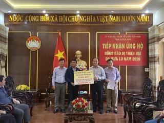 Ngành Ngân hàng Đà Nẵng ủng hộ gần 400 triệu đồng cho đồng bào bị thiệt hại do bão số 9