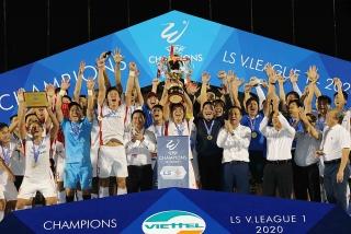 CLB Viettel lần đầu tiên vô địch V.League